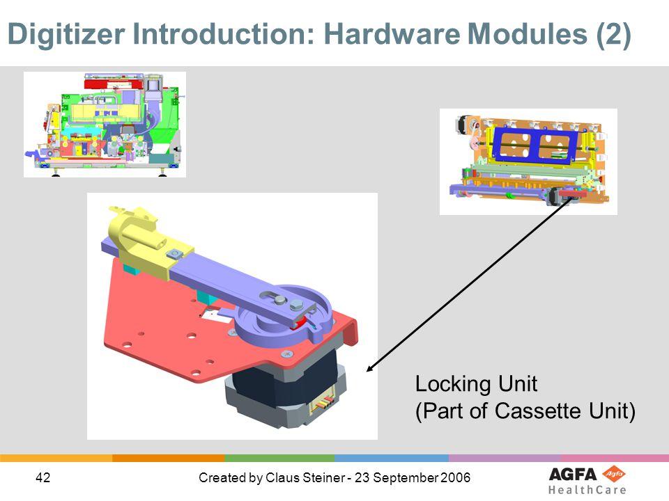 Digitizer Introduction: Hardware Modules (2)