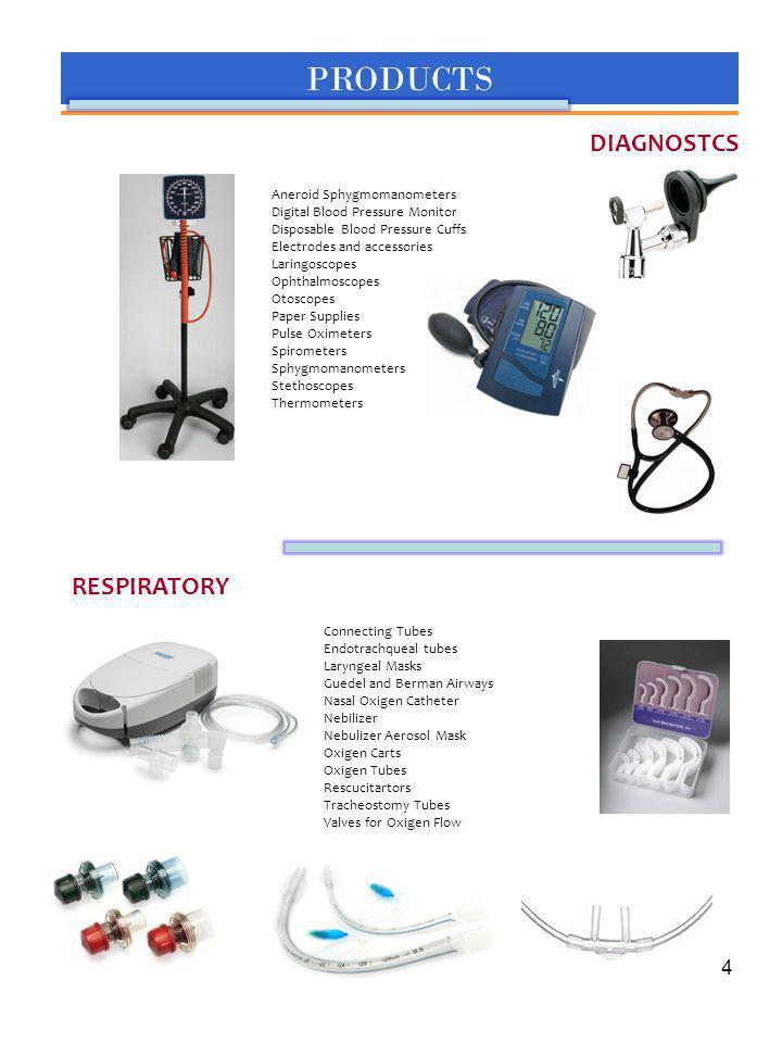 PRODUCTS DIAGNOSTCS RESPIRATORY Aneroid Sphygmomanometers