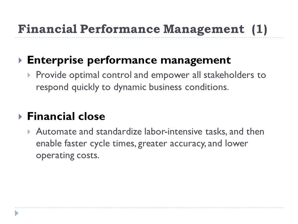 Financial Performance Management (1)