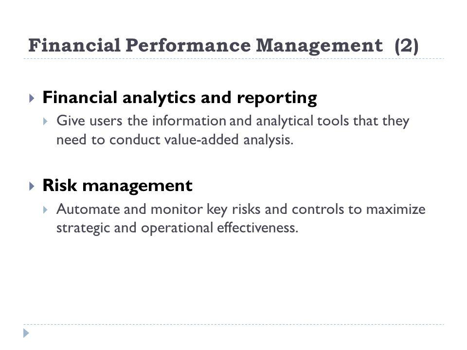 Financial Performance Management (2)