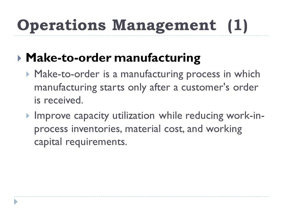 Operations Management (1)