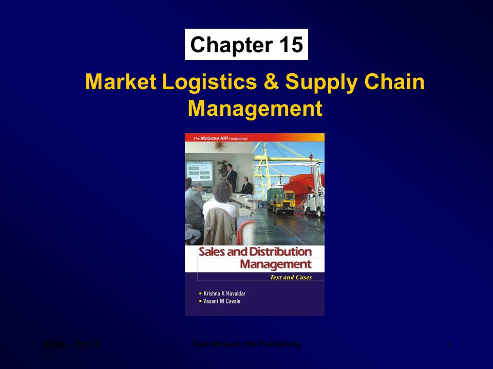 Market Logistics & Supply Chain Management Tata McGraw Hill Publishing