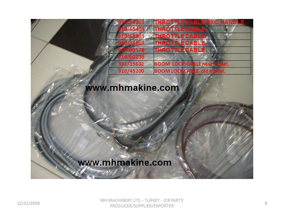MH MACHINERY LTD. - TURKEY - JCB PARTS PRODUCER/SUPPLIER/EXPORTER