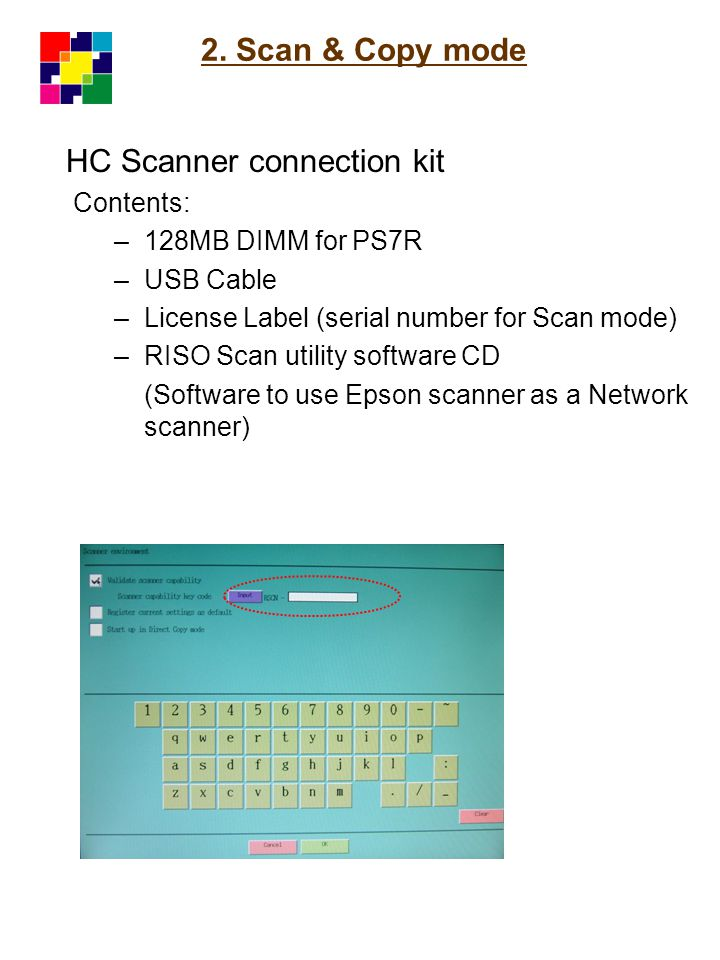 HC Scanner connection kit