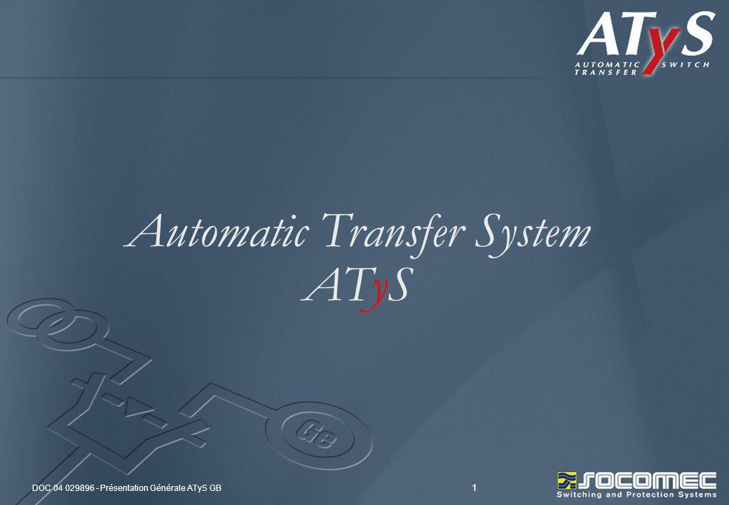 Automatic Transfer System ATyS