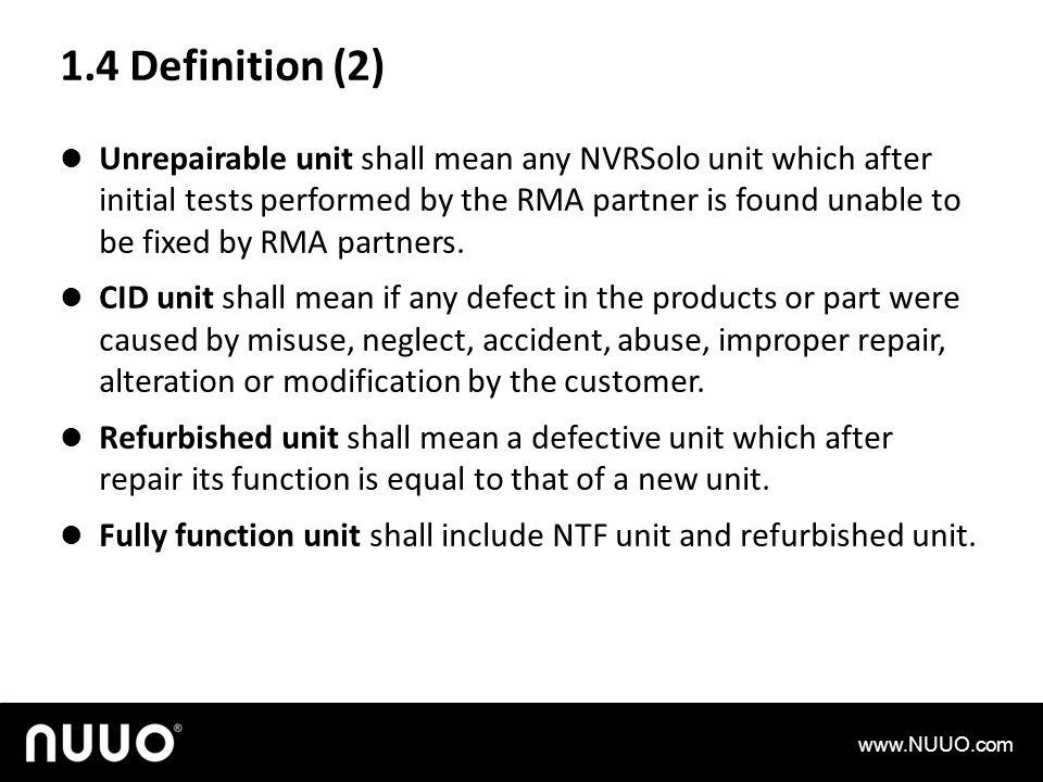 1.4 Definition (2)
