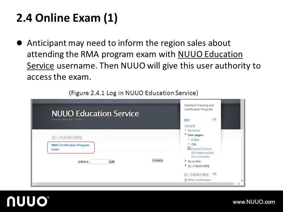 2.4 Online Exam (1)