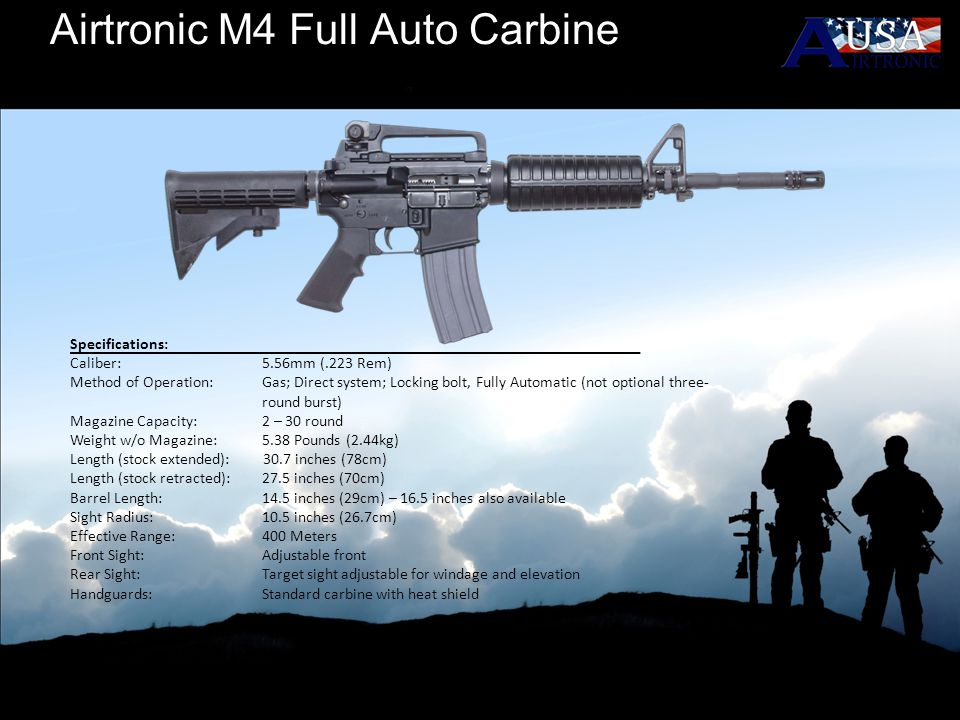Airtronic M4 Full Auto Carbine