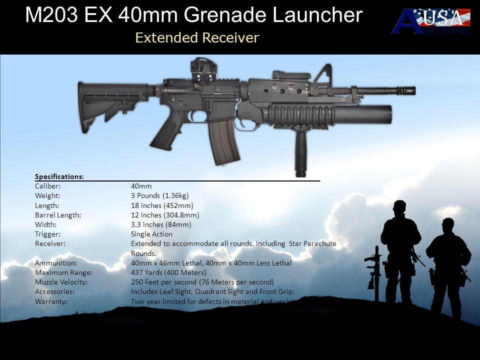 M203 EX 40mm Grenade Launcher