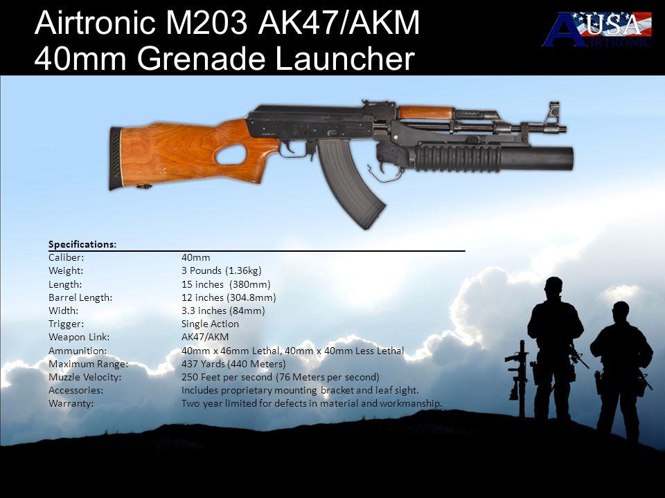 Airtronic M203 AK47/AKM 40mm Grenade Launcher