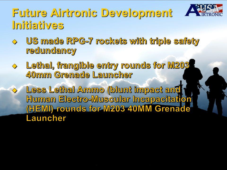 Future Airtronic Development Initiatives