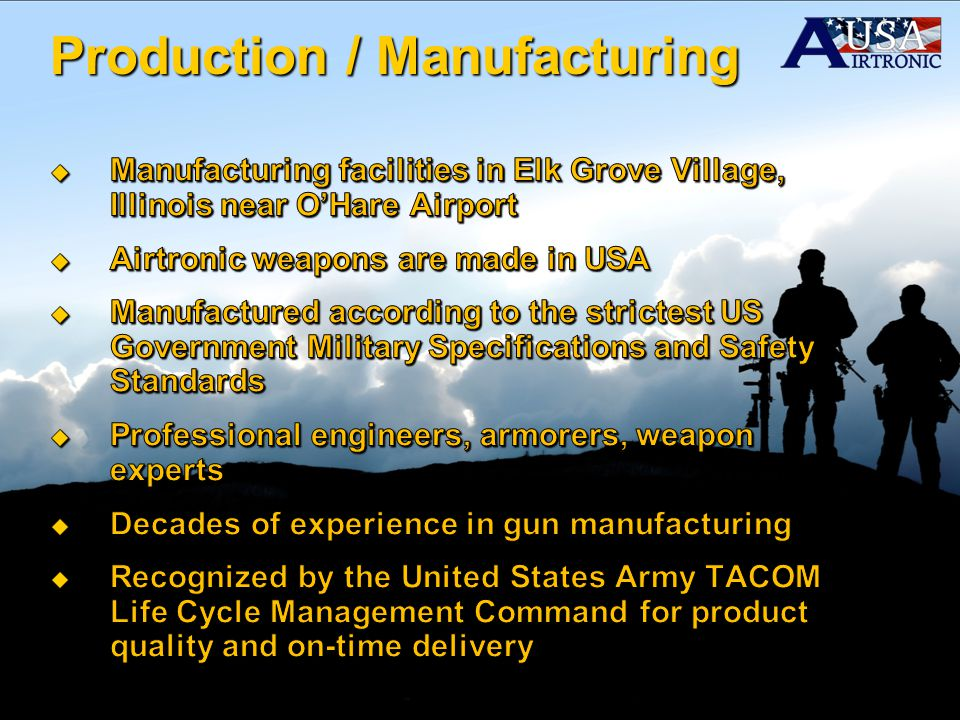 Production / Manufacturing