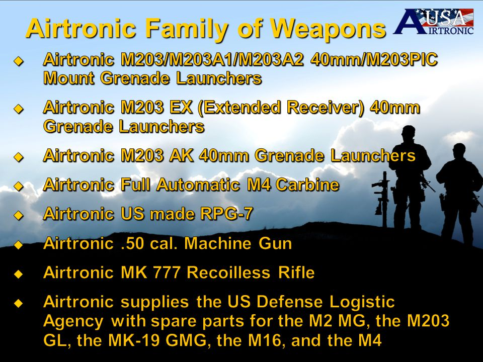 Airtronic Family of Weapons