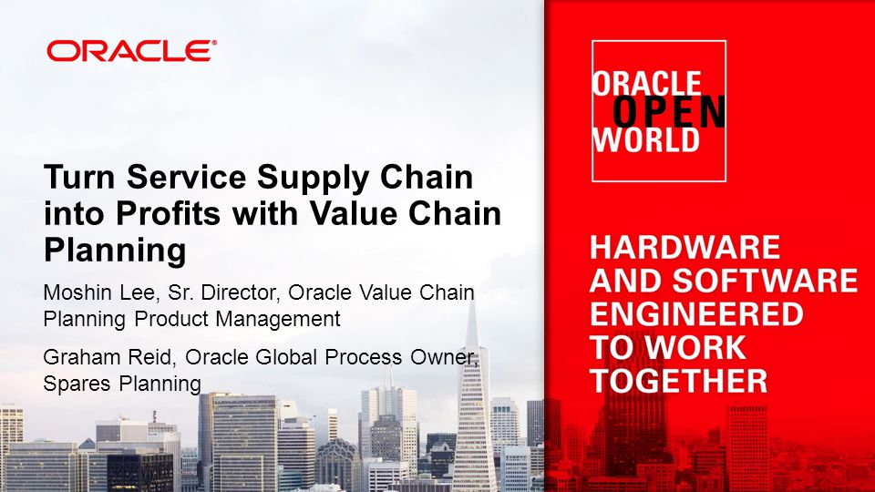 Turn Service Supply Chain into Profits with Value Chain Planning