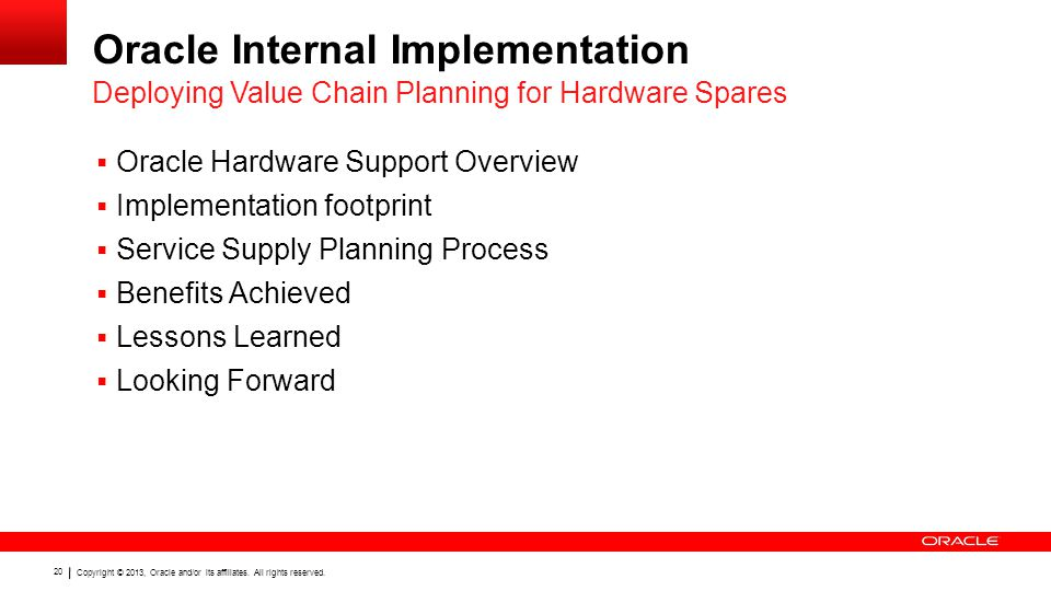 Oracle Internal Implementation
