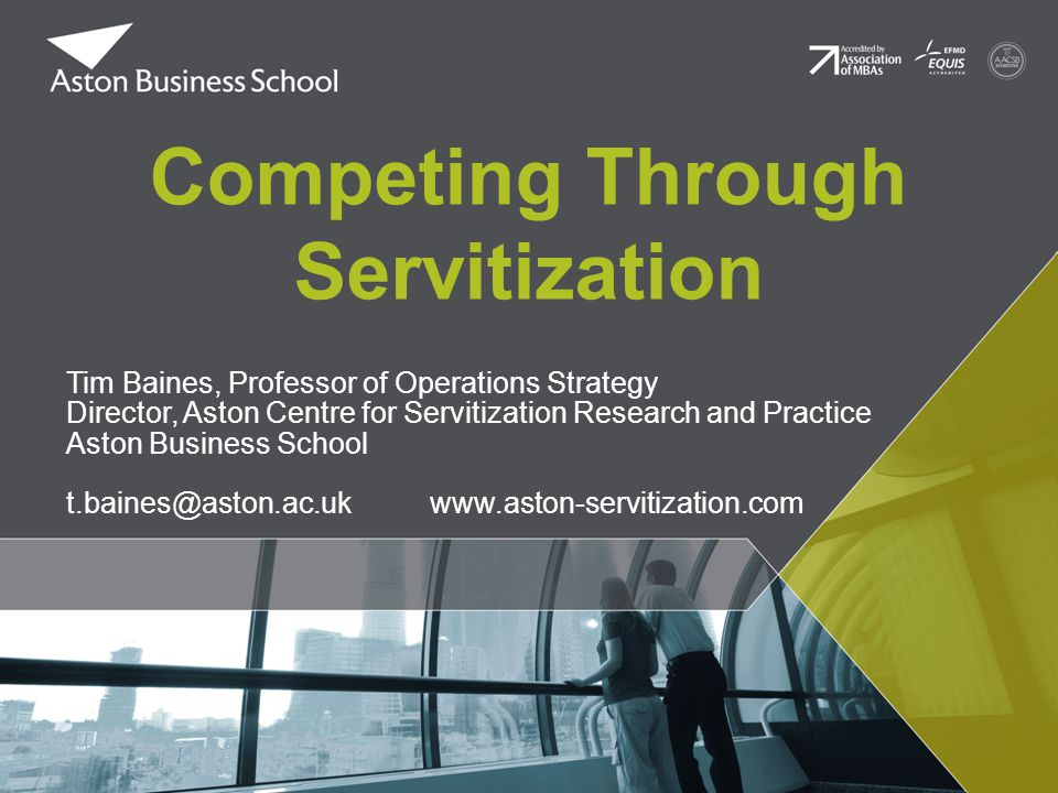 Competing Through Servitization