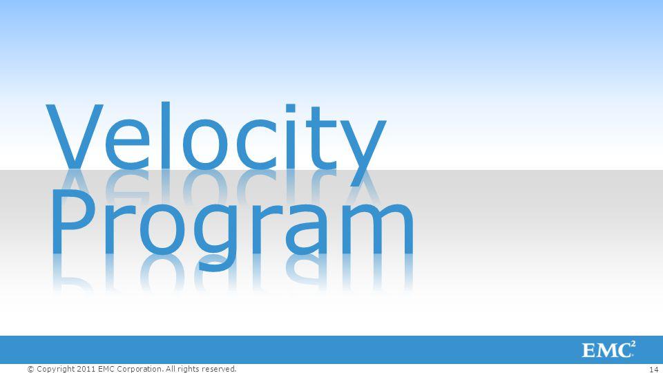 Velocity Program
