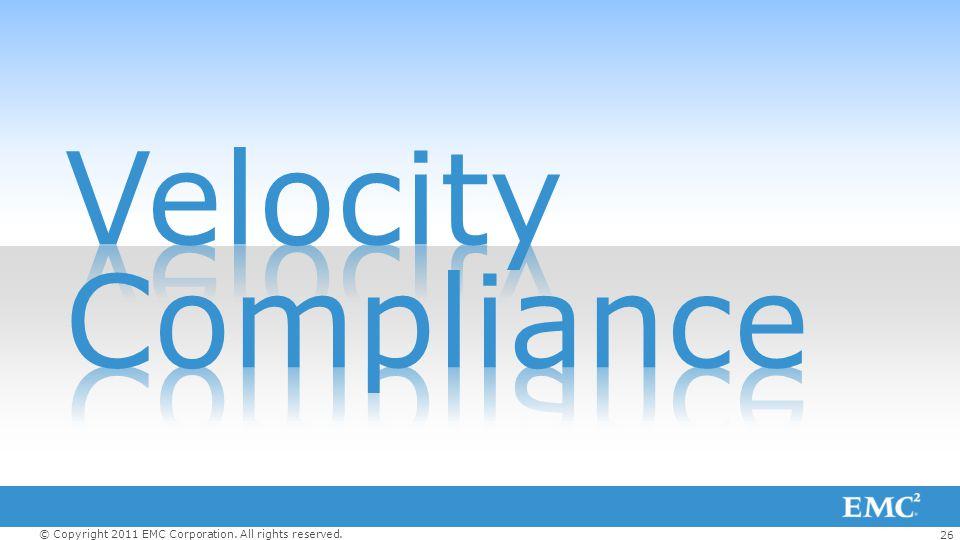 Velocity Compliance