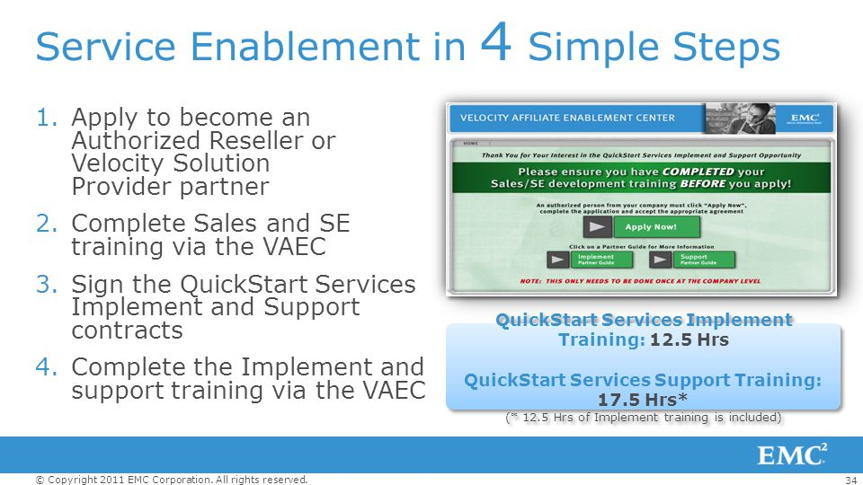 Service Enablement in 4 Simple Steps