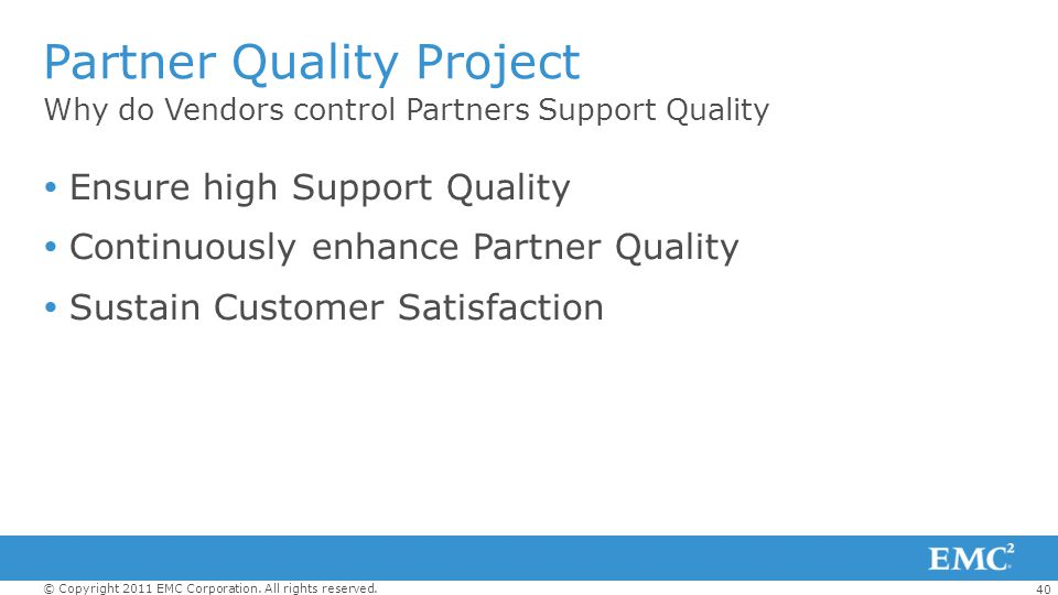 Partner Quality Project