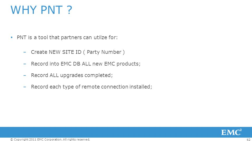 WHY PNT PNT is a tool that partners can utilze for: