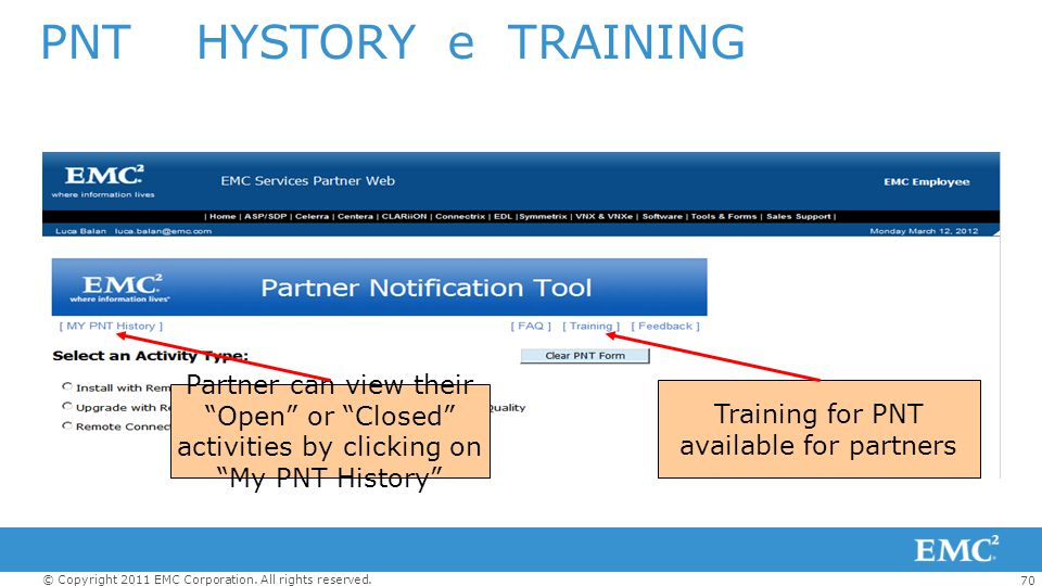 Training for PNT available for partners