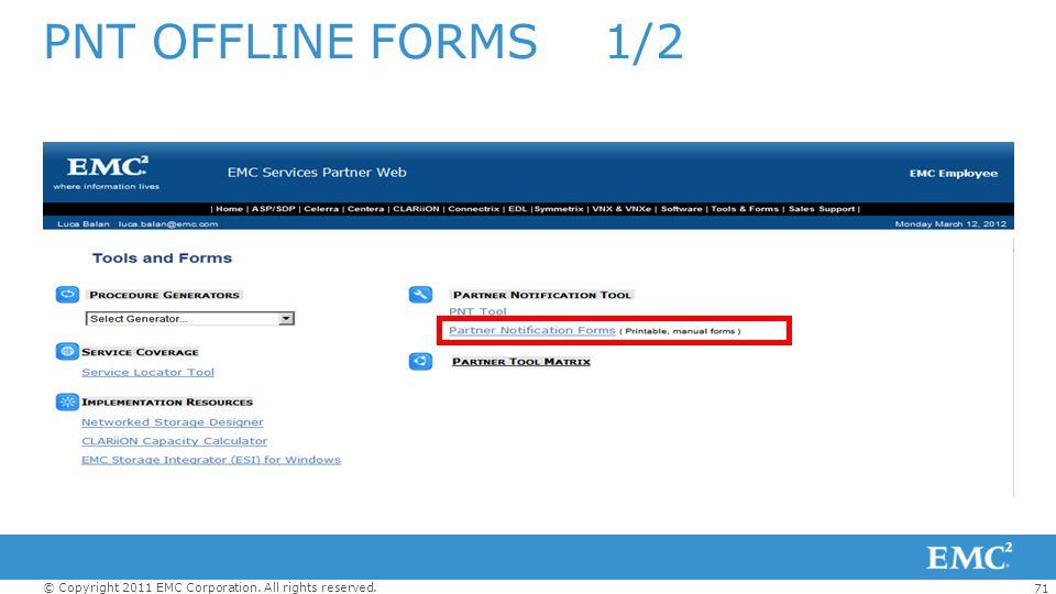 PNT OFFLINE FORMS 1/2