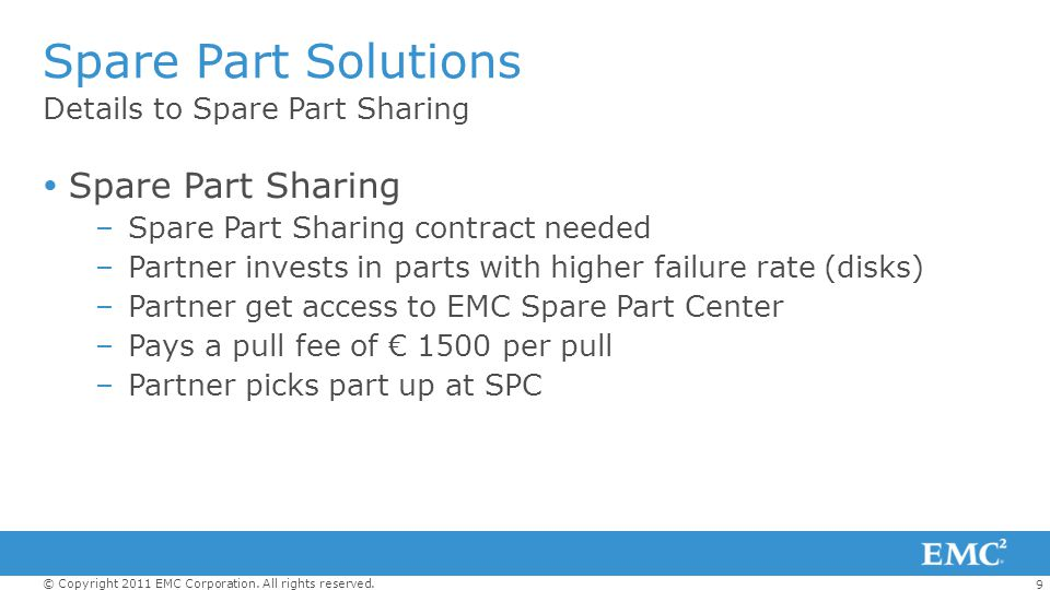 Spare Part Solutions Spare Part Sharing Details to Spare Part Sharing
