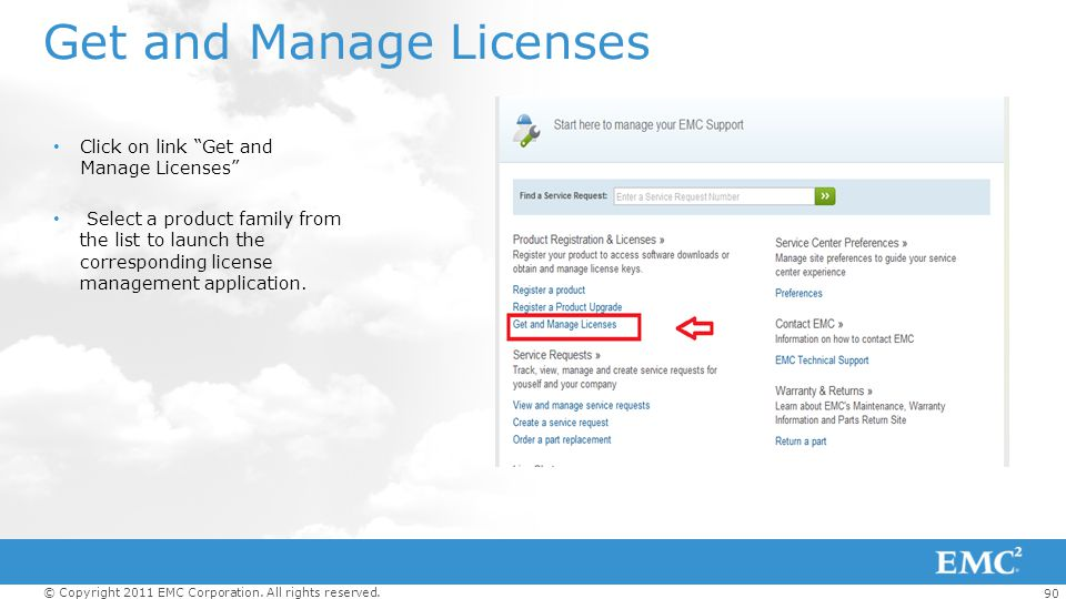 Get and Manage Licenses