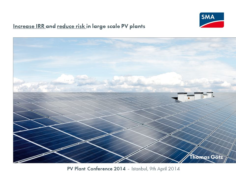 Solar PV as an Investment Grade Asset