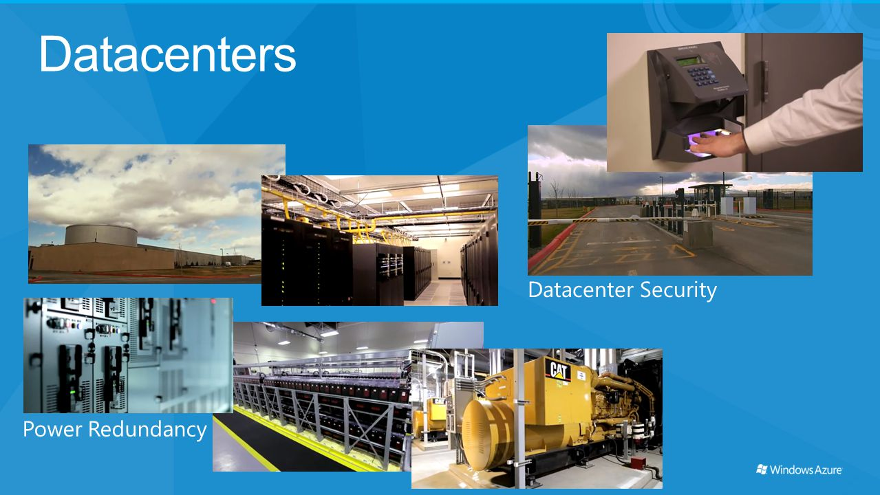 Datacenters Datacenter Security Power Redundancy