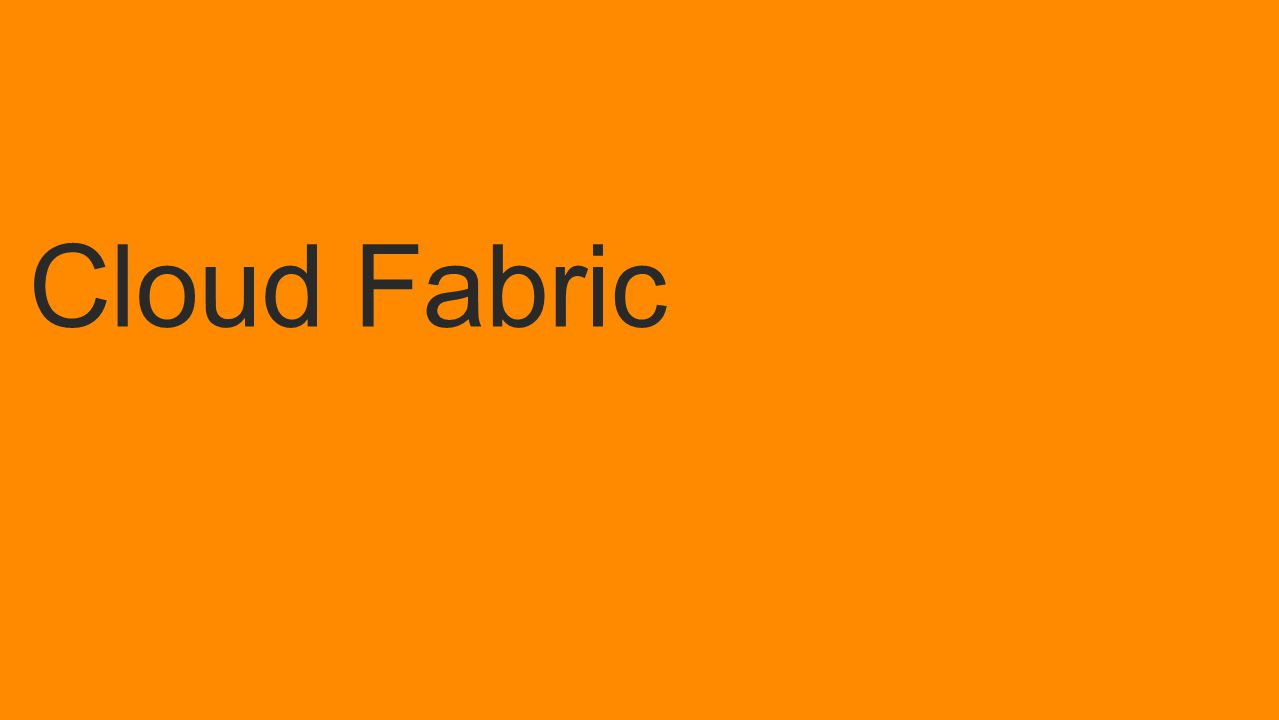 Cloud Fabric