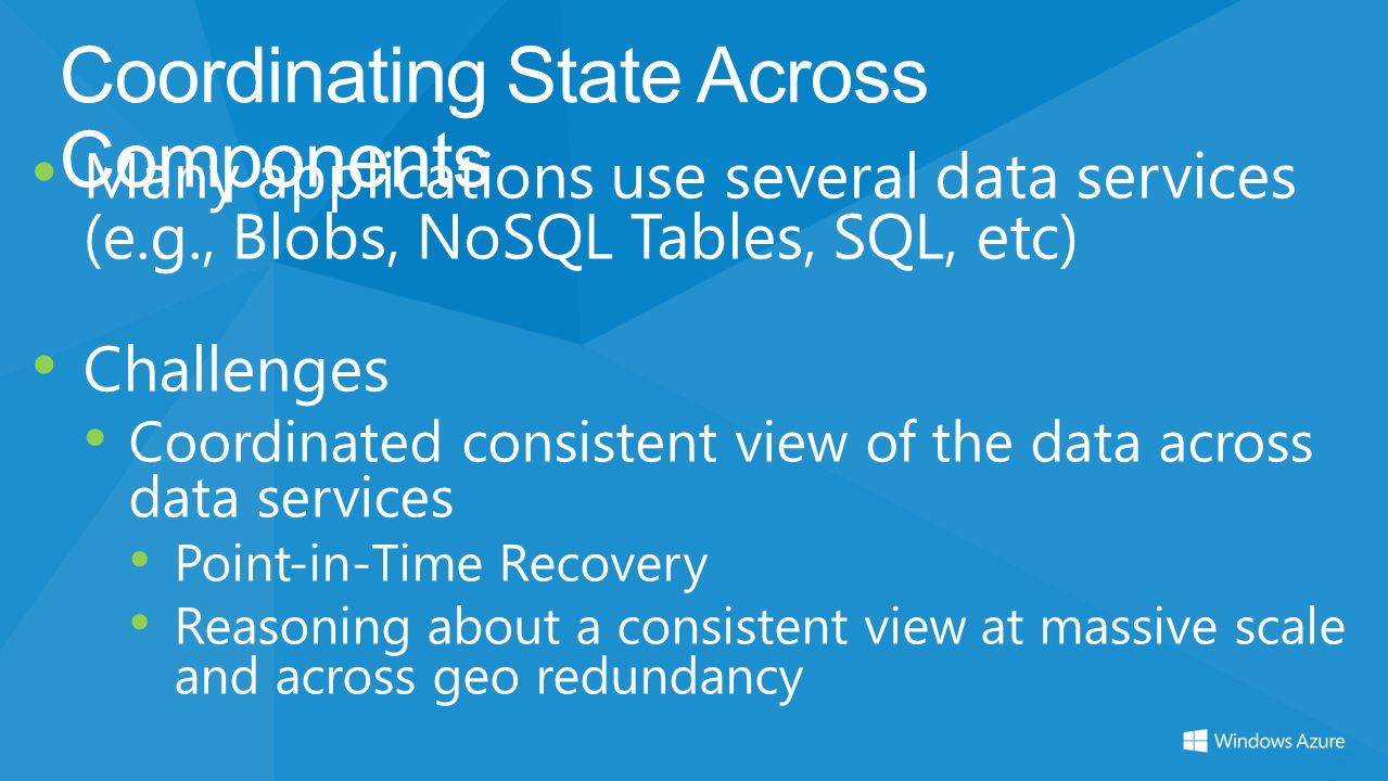 Coordinating State Across Components