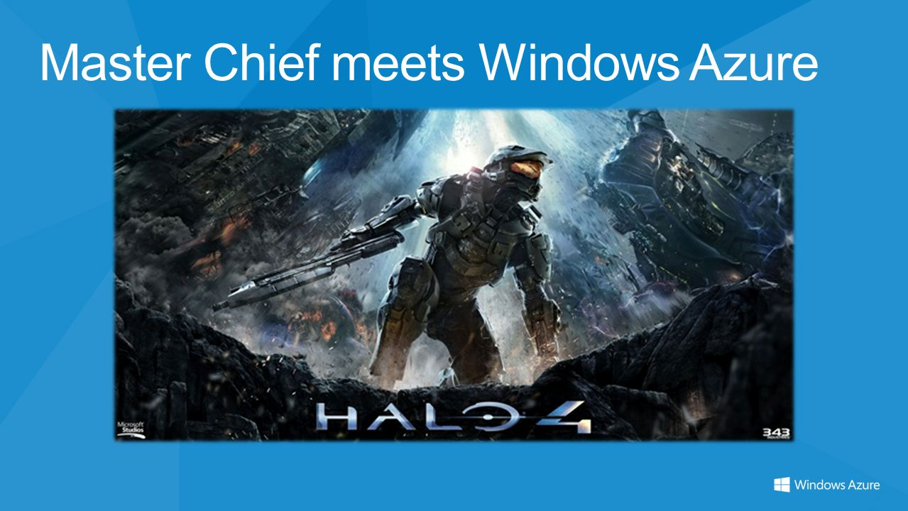 Master Chief meets Windows Azure