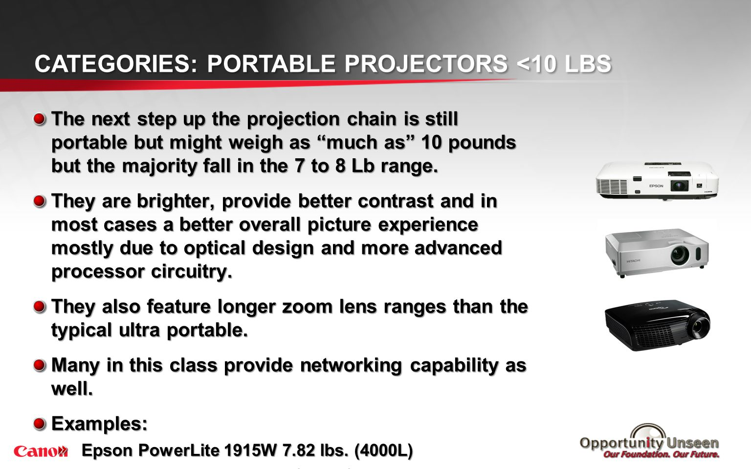 Categories: Installation Projectors