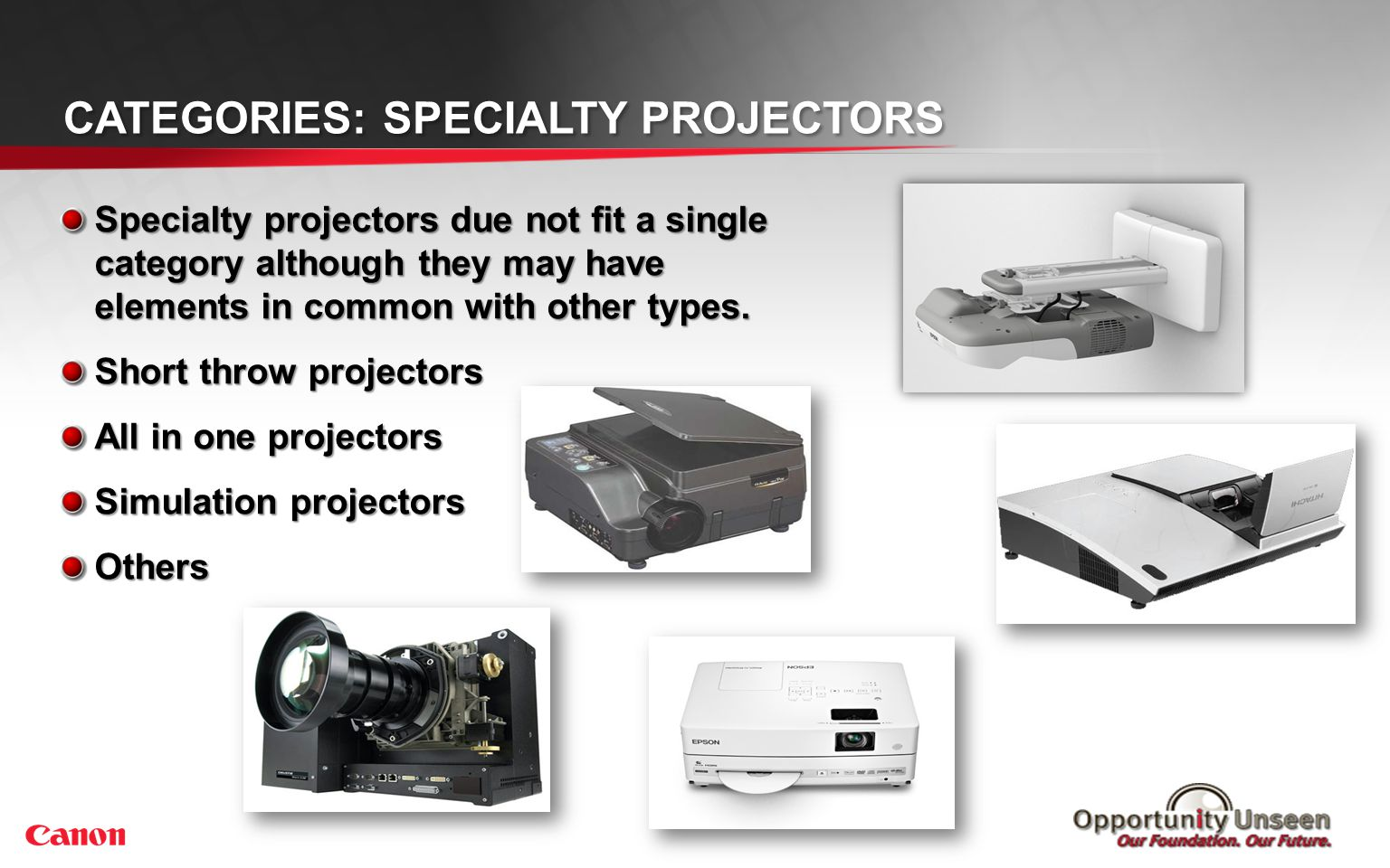 Categories: Home Theater Projectors