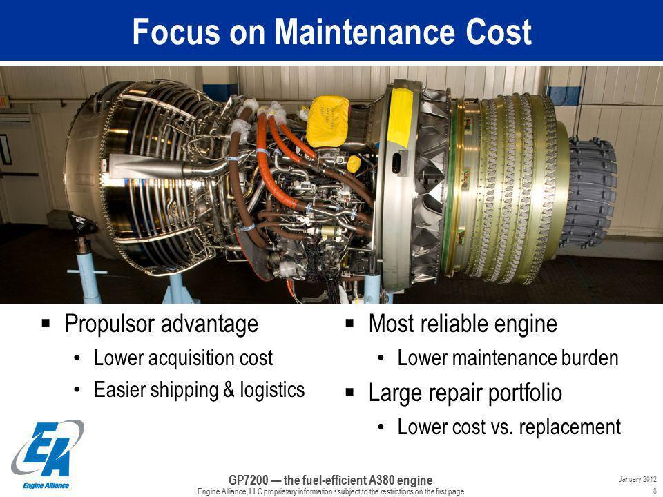 Focus on Maintenance Cost