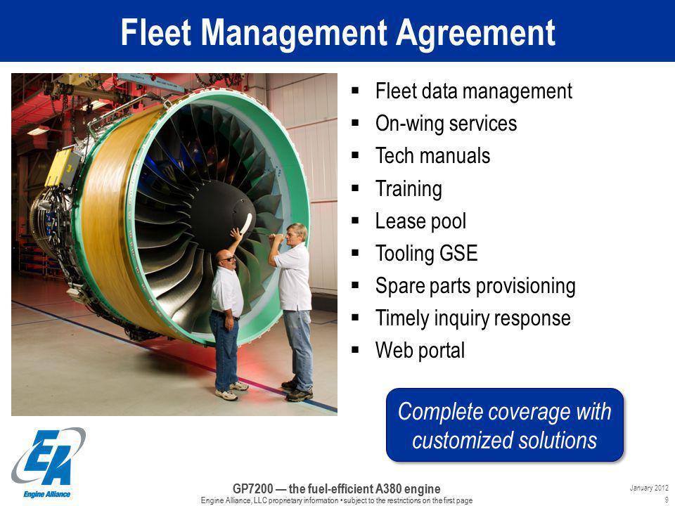 Fleet Management Agreement