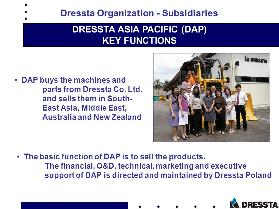 DRESSTA ASIA PACIFIC (DAP)