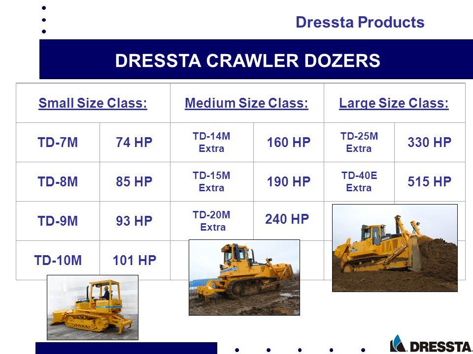 DRESSTA CRAWLER DOZERS