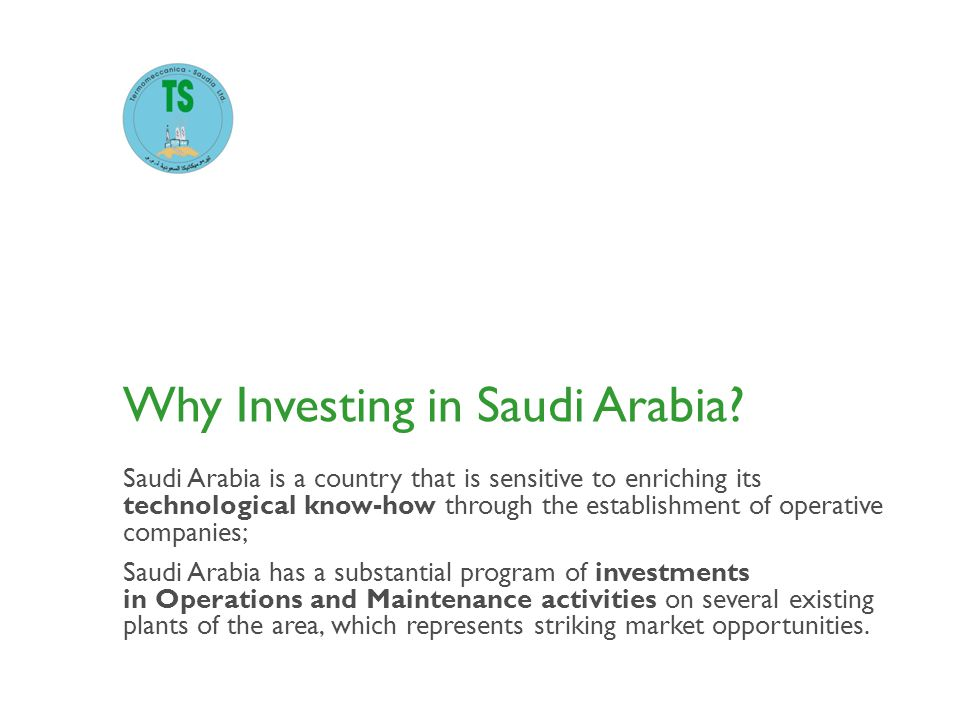 Why Investing in Saudi Arabia