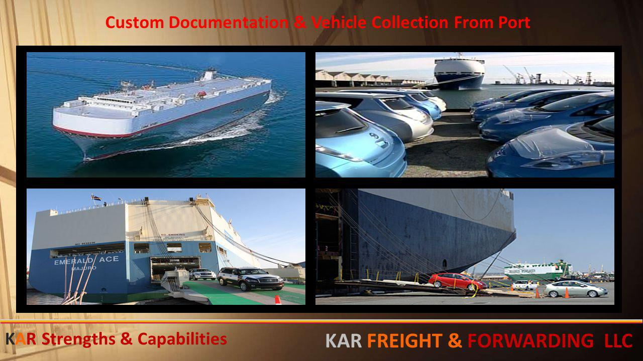 Custom Documentation & Vehicle Collection From Port