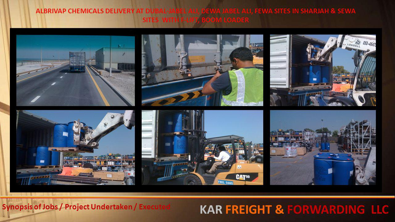 KAR FREIGHT & FORWARDING LLC