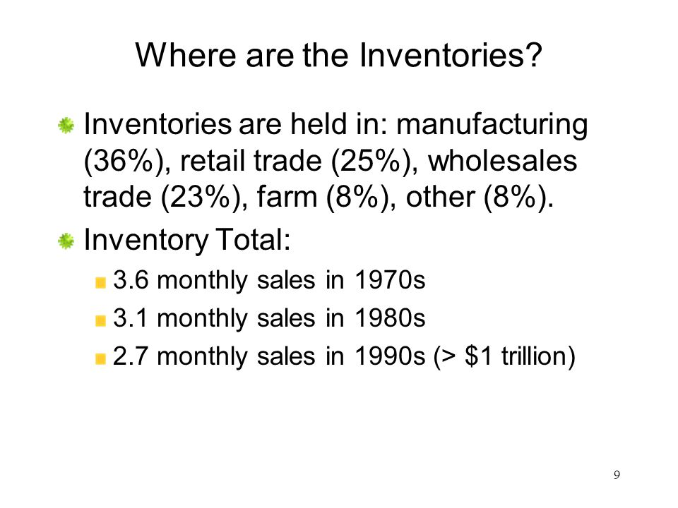 Where are the Inventories