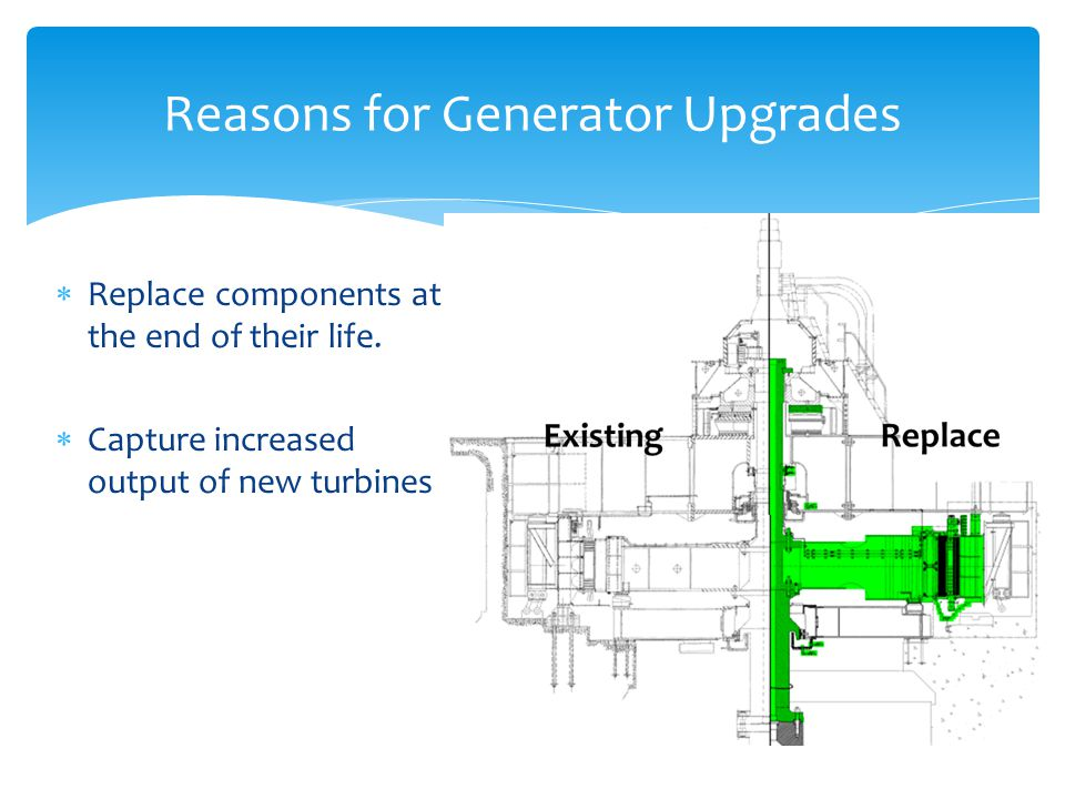 Reasons for Generator Upgrades
