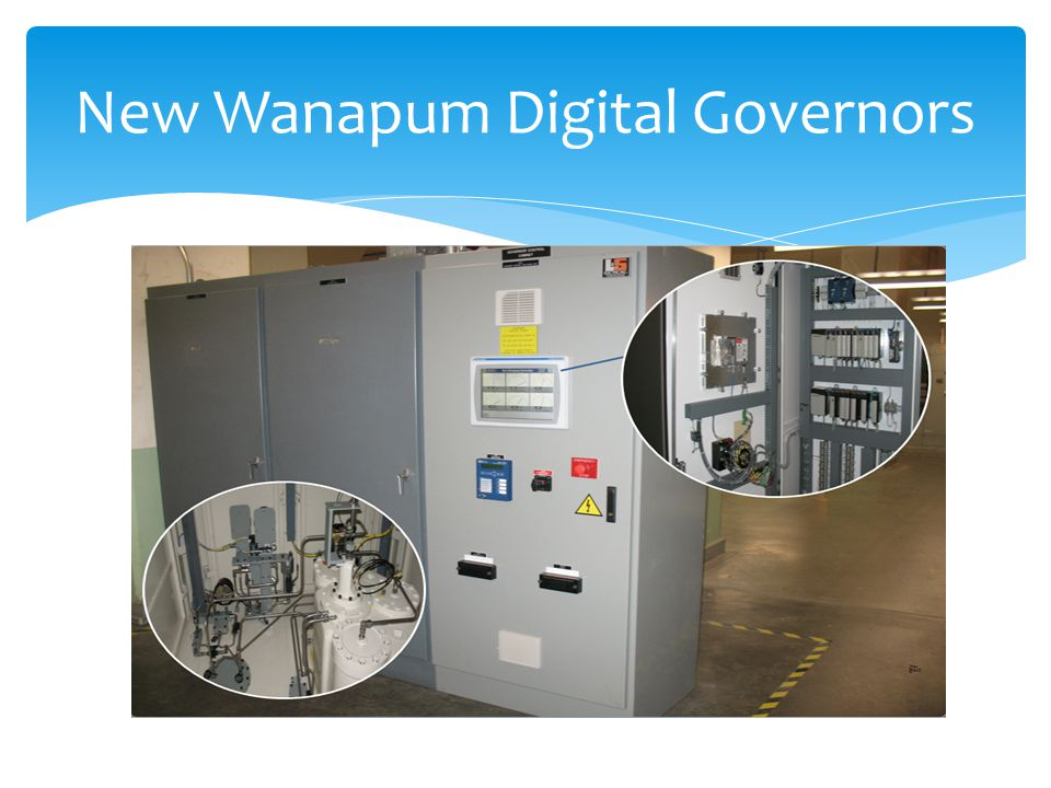 New Wanapum Digital Governors