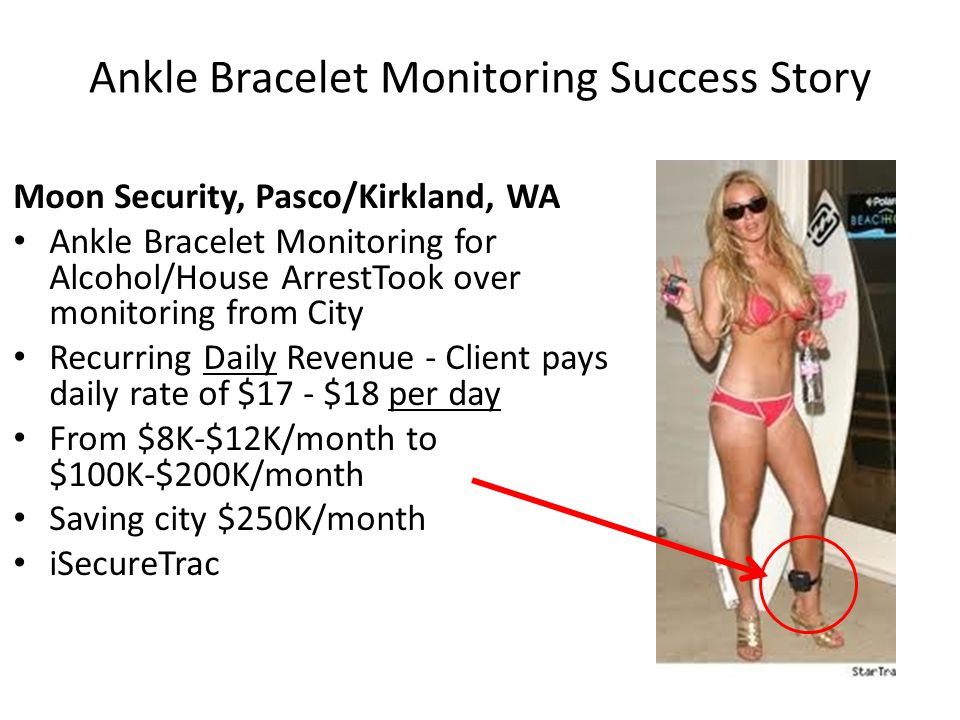 Ankle Bracelet Monitoring Success Story