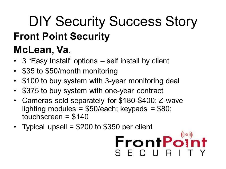 DIY Security Success Story
