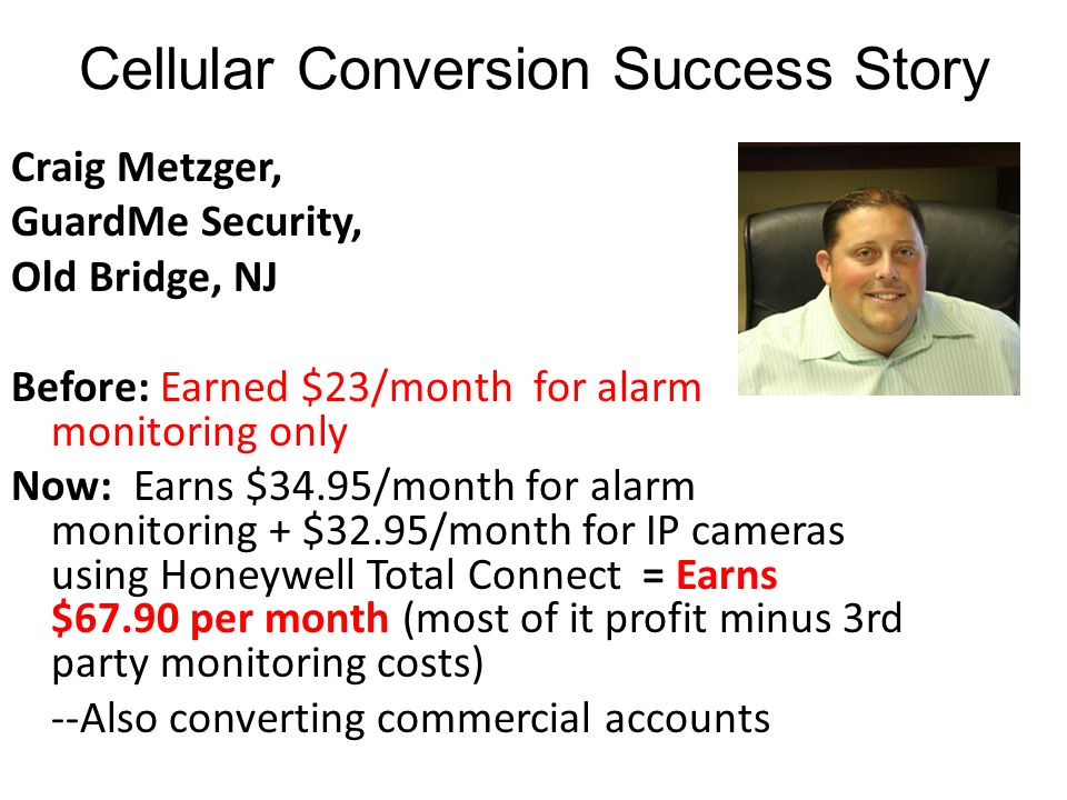 Cellular Conversion Success Story