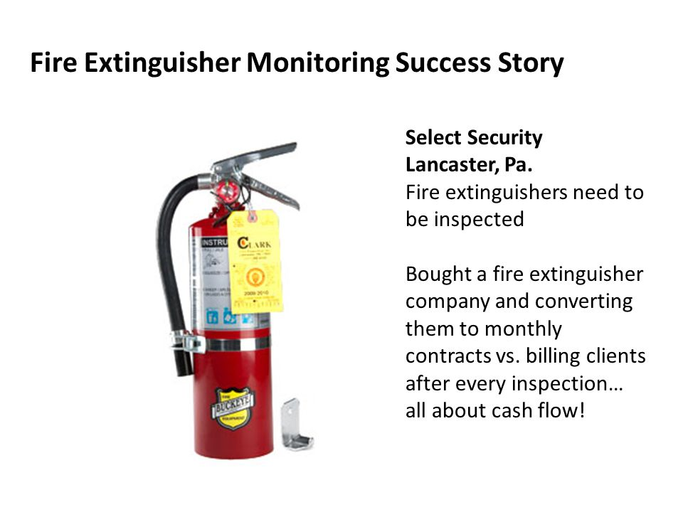 Fire Extinguisher Monitoring Success Story